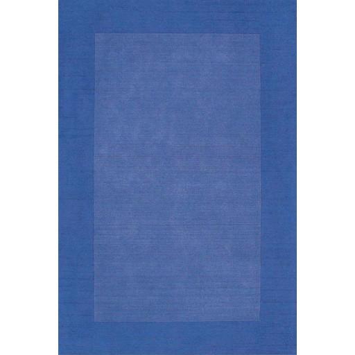Henley Border Blue Dark Blue 3x5 Border Rug