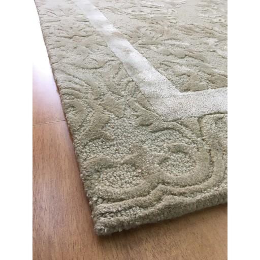 Handmade Wool Persian Ivory/ Beige 5x8 lt1072 Area Rug