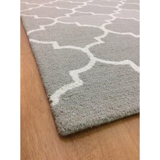 Handmade Wool Modern Beige/ Ivory 5x8 lt1188 Area Rug