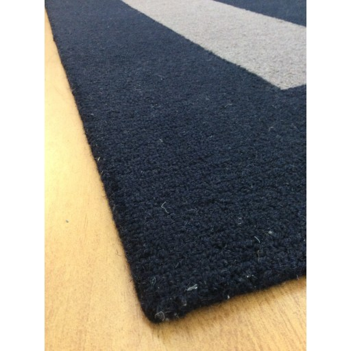 Handmade Wool Modern Blue/ Gray 5x8 lt1189 Area Rug