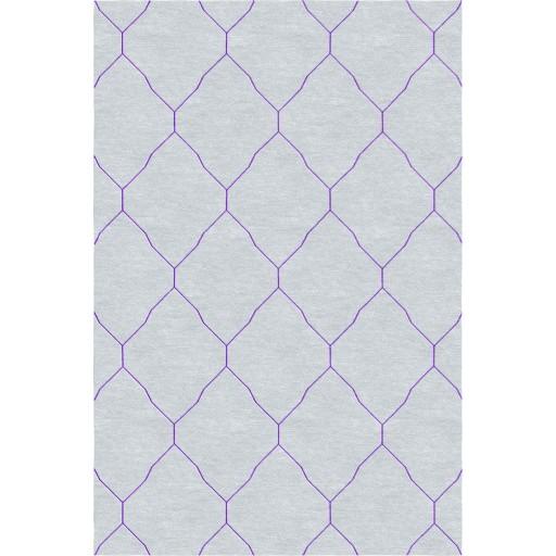 Katherine TS3001 Light Grey/Purple Rug