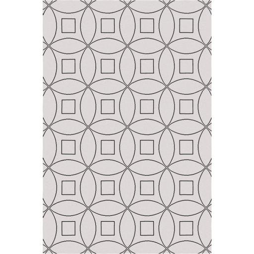 Tanesha TS3002 Beige/Black Contemporary Hand-Tufted Rug