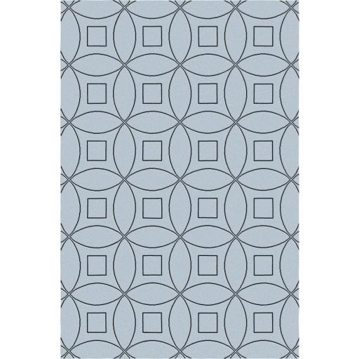 Tanesha TS3002 Grey/Black Contemporary Hand-Tufted Rug