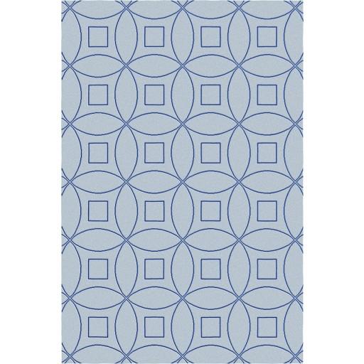 Tanesha TS3002 Grey/Blue Contemporary Hand-Tufted Rug