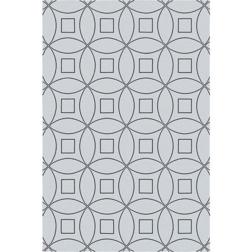Tanesha TS3002 Light Grey/Black Contemporary Hand-Tufted Rug