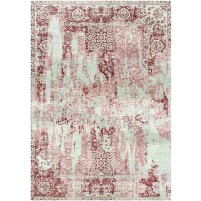 Copper Rust / Wafer Silken Modern 8x10 Rug