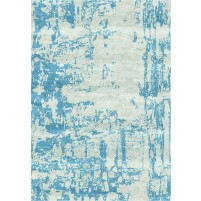 Noura Handloom Tasman Sage / Hippie Blue Rug