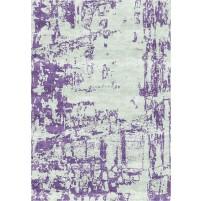 Noura Handloom Tasman Sage / Trendy Purple Rug