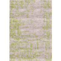 Noura Handloom Silver Beige / Smoke Green Rug