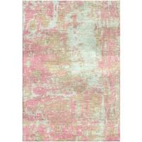 Shilo Pink / Tasman Green Silken Modern 8x10 Rug