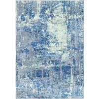 Calypso Blue / Edward Green Silken Modern 8x10 Rug