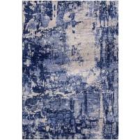 Zodiac Blue / Pale Slate Silken Modern 8x10 Rug