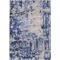 San Juan Blue / Dusty Gray Silken Modern 8x10 Rug