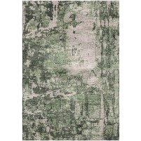 Siam Green / Nomad Gray Silken Modern 8x10 Rug