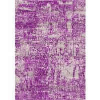 Arte Handloom Swirl Beige / Strikemaster Purple Rug