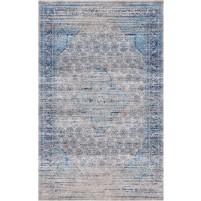 Ronda Handloom Turkey Beige / Bali Blue Rug