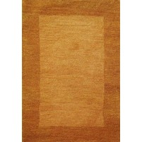 Henley Border Orange Bear 3x5 Border Rug