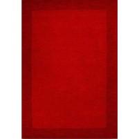 Henley Border Red Dark Red 3x5 Border Rug