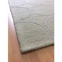 Handmade Wool Modern Beige/ Ivory 5x8 lt1221 Area Rug