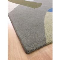 Handmade Wool Modern Beige/Brown 5x8 lt1288 Area Rug