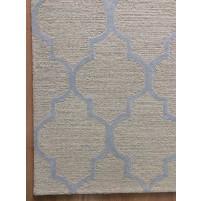 Handmade Wool Modern Beige/ Ivory 5x8 lt1415 Area Rug