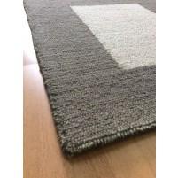 Handmade Wool Modern Beige/ Brown 5x8 lt1416 Area Rug