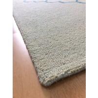 Handmade Wool Modern Blue 5x8 lt1417 Area Rug