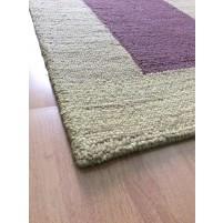 Handmade Wool Modern Brown 5x8 lt1430 Area Rug