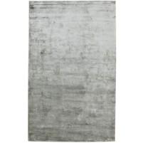 Modern Handloom Silk Grey 5' x 8' Rug - pr000623