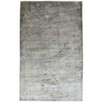 Modern Handloom Silk Grey 5' x 8' Rug - pr000626