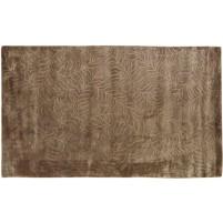 Modern Handloom Silk Brown 5' x 8' Rug - pr000630