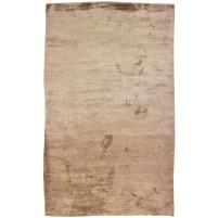 Modern Handloom Silk Brown 5' x 8' Rug - pr000633