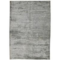 Modern Handloom Silk Grey 5' x 8' Rug - pr000635