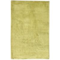 Modern Handloom Silk Gold 2' x 3' Rug - pr000641