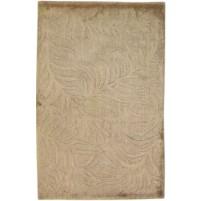 Modern Handloom Silk Brown 2' x 3' Rug - pr000644