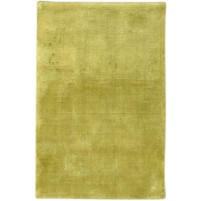 Modern Handloom Silk Green 2' x 3' Rug - pr000648