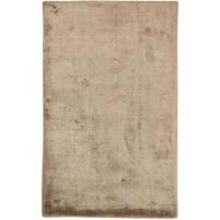 Modern Handloom Silk Brown 2' x 3' Rug - pr000650