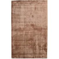 Modern Handloom Silk Brown 5' x 8' Rug - pr000659