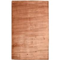 Modern Handloom Silk Brown 5' x 8' Rug - pr000664