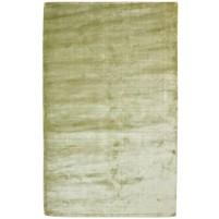 Modern Handloom Silk Green 5' x 8' Rug - pr000667
