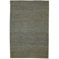 Modern Hand Knotted Jute Charcoal 5' x 8' Rug - pr000679
