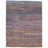 Modern Hand Knotted Wool Multi 8' x 10' Rug - rh000004