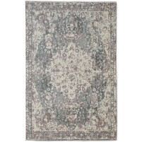 Traditional Hand Knotted Wool Charcoal 6' x 9' Rug - rh000106