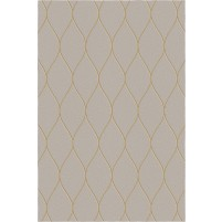 George TS3005 Brown / Gold Wool Hand-Tufted Rug