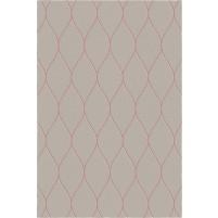 George TS3005 Brown / Pink Wool Hand-Tufted Rug