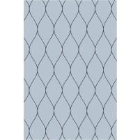 George TS3005 Grey / Black Wool Hand-Tufted Rug