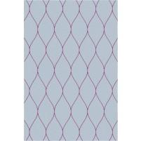 George TS3005 Grey / Purple Wool Hand-Tufted Rug