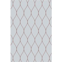 George TS3005 Light Grey / Copper Wool Hand-Tufted Rug