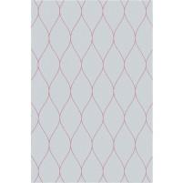 George TS3005 Light Grey / Pink Wool Hand-Tufted Rug