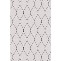 George TS3005 Oatmeal / Black Wool Hand-Tufted Rug